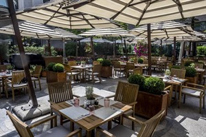 Athenee Palace Hilton Bucharest - terrace
