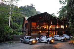 Borneo Rainforest Lodge - lodge exterior
