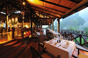 Borneo Rainforest Lodge - restaurant