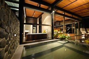 Borneo Rainforest Lodge - New Villa interior