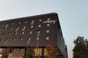 Exterior of Canopy by Hilton Zagreb City Centre
