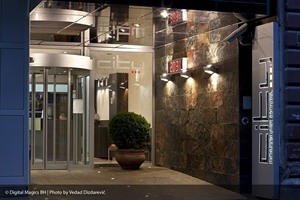 City Boutique Hotel - Entrance