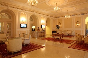 Grand Hotel Continental- lobby