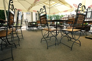 Hotel Hanza - summer cafe