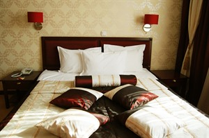 Sleeping well at Hotel Minsk