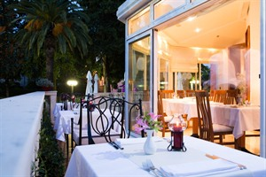 Terrace Dining at Hotel Zagreb