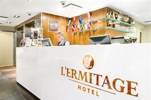 L'Ermitage Hotel - Reception