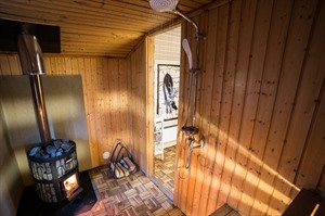 Shower at Logger's Lodge