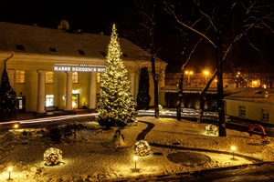 Mabre Residence Hotel during Christmas