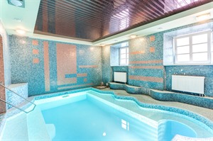 Pool in Mabre Residence Hotel