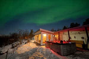 Northern Lights over Malangen Resort