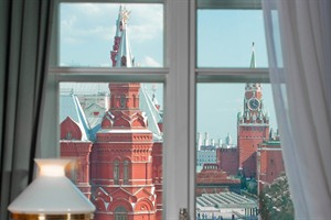 Hotel National - view of the Kremlin from suite's window
