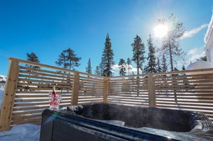 HotTub at the Northern Lights Ranch