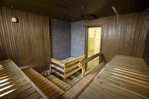Sauna at Original Sokos Hotel Vaakuna