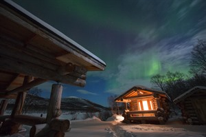 Northern Lights at Paishill Private Lodge