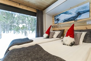 Bedroom at Panorama Design Huts
