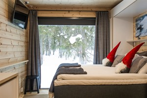 Room with a view at Panorama Design Huts