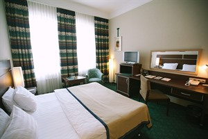 Bedroom at Petr I Hotel