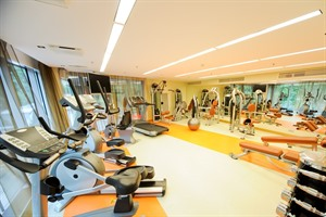 Gym at the Radisson Blu Elizabete