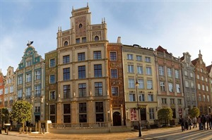 Outside of Radisson Blu Gdansk