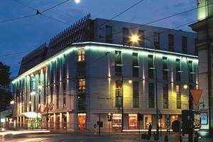 Radisson Blu Krakow- exterior at night