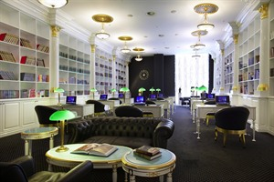 Radisson Royal Moscow - library