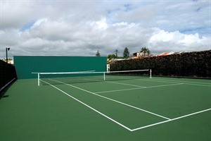 Tennis court at Azoris Royal Garden Hotel