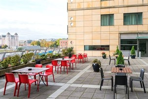 Terrace at Thon Hotel Opera