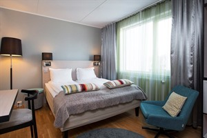 Bedroom of Thon Hotel Tromso