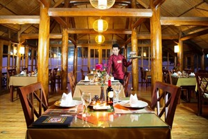 Topas Eco Lodge, Sapa - Restaurant