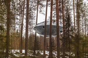 UFO at the Treehotel