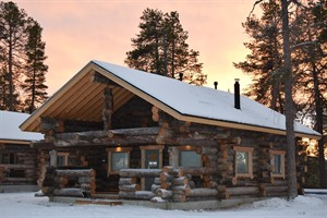 Nellim Wilderness Hotel - Log Cabin