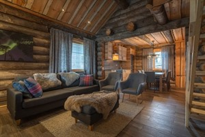 Nellim Wilderness Hotel - Log Cabin Peska