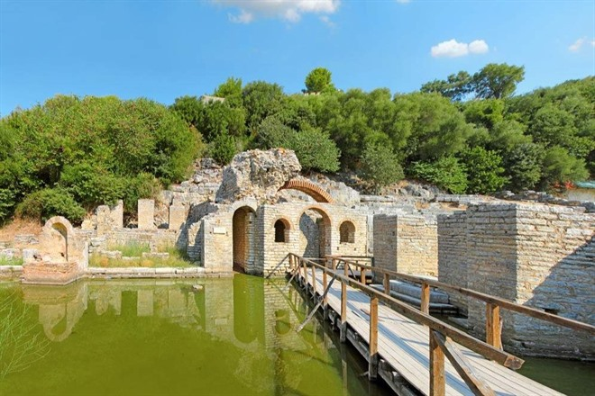 UNESCO World Heritage Site of Butrint.