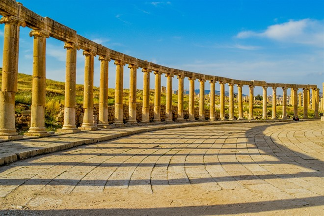 The Forum at Jerash