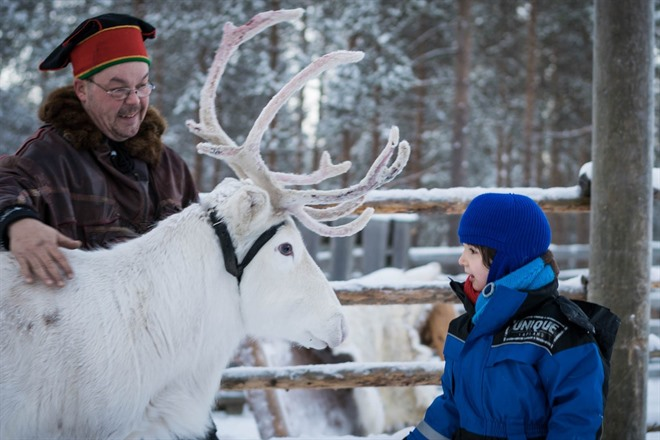 SNOWMOBILE EXCURSION TO A REINDEER FARM AND SANTA CLAUS VILLAGE