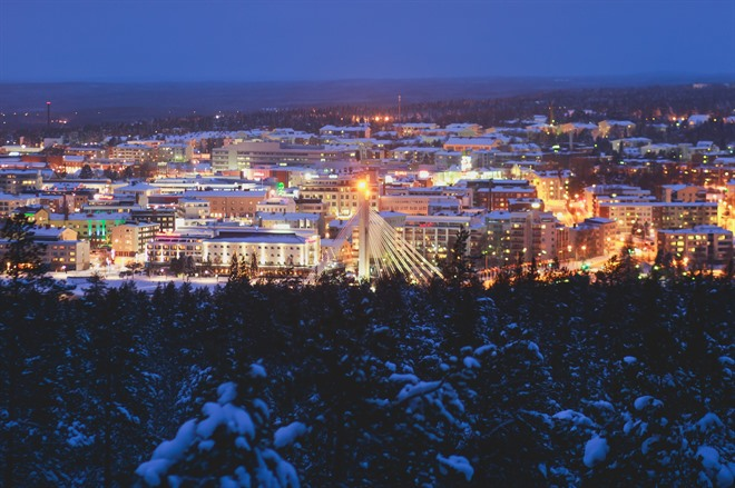FLY TO LAPLAND