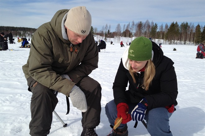 ICE FISHING & SAMI CULTURE EXCURSION