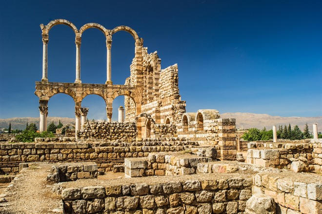 AANJAR AND BAALBECK