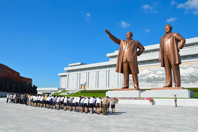 Sunday 15th April - Anniversary of the birth of President Kim Il Sung