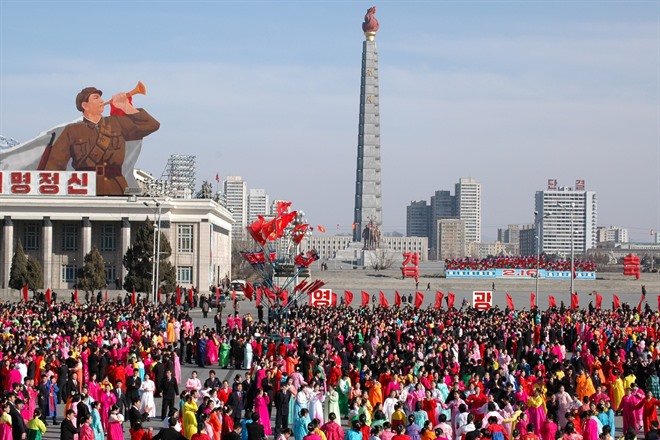PYONGYANG - LIBERATION DAY