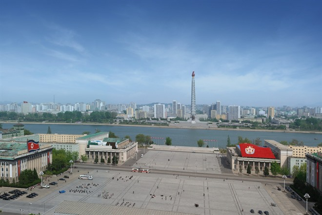 Saturday 15th August - Pyongyang & 75th ANNIVERSARY OF THE LIBERATION OF KOREA