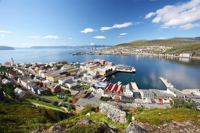 Return South through Hammerfest