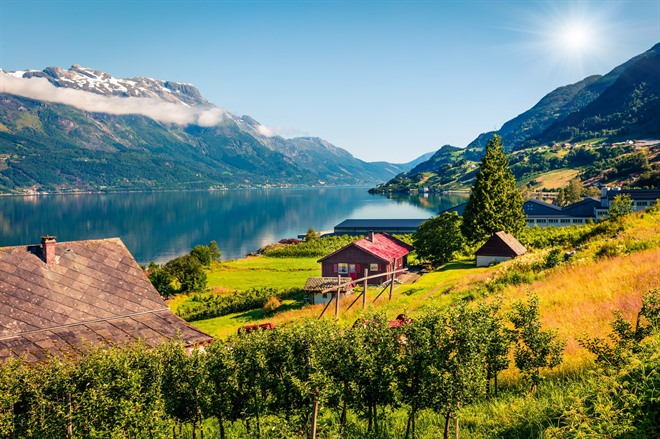 Hardangerfjord, the orchard of Norway
