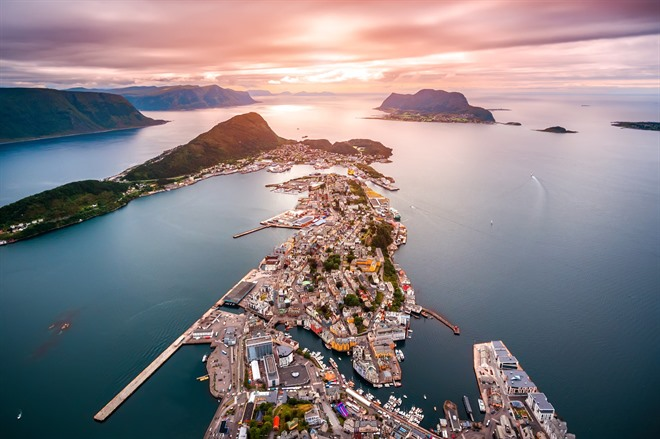 Ålesund, Norway's prettiest town