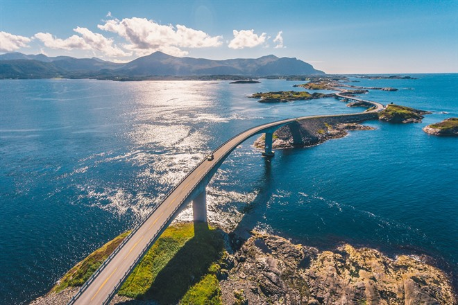 The incredible Atlantic Road, Norway