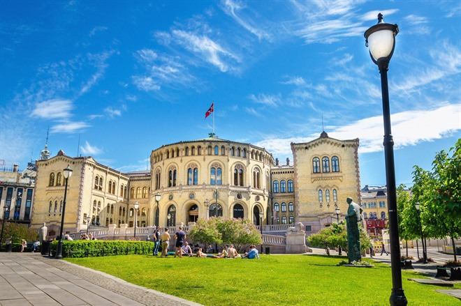 Stortinget - the Parliament of Norway