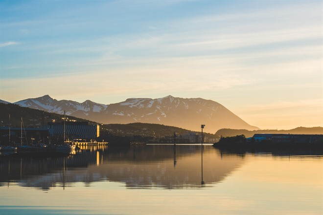Harstad under the midnight sun