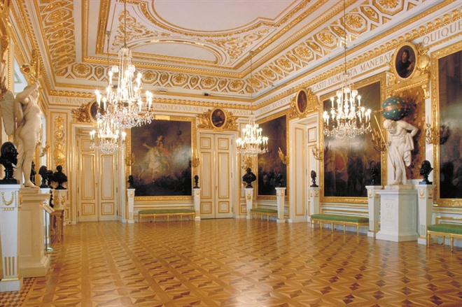 Interior of the Royal Castle, Warsaw