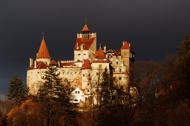 BRAN CASTLE AND BRASOV